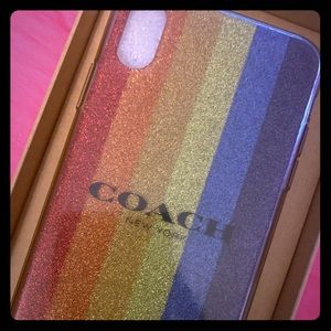 COACH NEW IPHONE SX MAX 10 CASE
